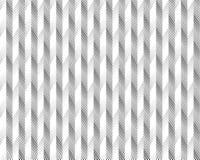 Forma geométrica del triángulo de semitono de la pantalla Fondo negro Textura y modelo blancos plegamiento de papel plisados Fotografía de archivo libre de regalías