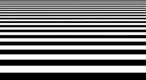 Forma geometrica del pavimento in bianco e nero astratto delle bande Fotografia Stock