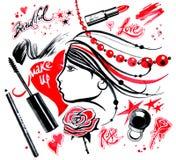 Forma girl_4 Imagens de Stock