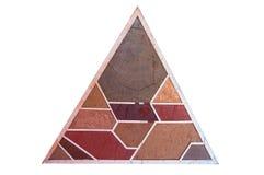 Forma glebowe warstwy, swój colour i tekstury, Obraz Stock