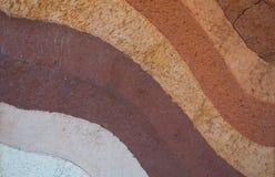 Forma glebowe warstwy, swój colour i tekstury, Zdjęcie Royalty Free