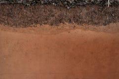Forma glebowe warstwy, swój colour i tekstury, Zdjęcie Stock