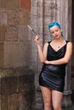 Forma gótico 'sexy' Foto de Stock Royalty Free