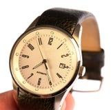 Forma Jewelery do relógio de Mens imagem de stock