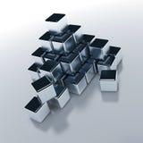 forma kubiczni przedmiotów, Obraz Royalty Free