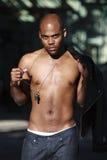 Forma masculina do estilo de vida do African-American Foto de Stock Royalty Free