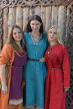 Forma medieval das mulheres Fotografia de Stock Royalty Free
