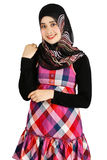 Forma muçulmana das mulheres Foto de Stock Royalty Free