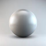 Forma poligonal abstracta blanca Imagen de archivo libre de regalías
