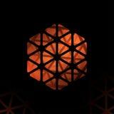Forma poligonale astratta Modello moderno astratto di progettazione geometrica Immagine Stock Libera da Diritti