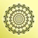 Forma redonda decorativa Imágenes de archivo libres de regalías