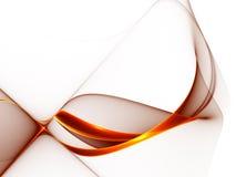 Forma roja abstracta en el fondo blanco ilustración del vector