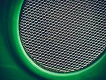 Forma rotonda del cerchio con la griglia Immagine Stock Libera da Diritti