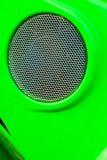 Forma rotonda del cerchio con la griglia Immagine Stock