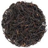 Forma rotonda del tè di Ai Lao Black dell'alta montagna isolata Fotografia Stock