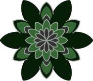 Forma simmetrica della radura del fiore royalty illustrazione gratis