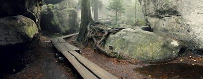 Forma stupefacente della roccia Fotografie Stock Libere da Diritti