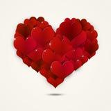Forma Valentine Decoration del corazón Imagen de archivo libre de regalías