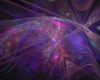 Forma variopinta di frattale di caos astratto di concetto, modello, discoteca, partito royalty illustrazione gratis