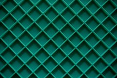 Forma verde do quadrado da esteira de placa fotografia de stock