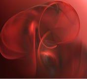 Forma vermelha ilustração royalty free