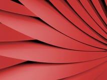 forma vermelha Foto de Stock