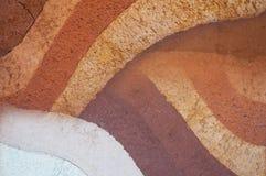 Forma ziemi warstwy, swój colour i tekstury, tekstury ea warstwy Obraz Stock