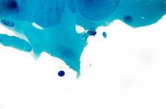 Formación artística abstracta elegante de la Navidad festiva azul por las manchas blancas /negras Tarjeta futurista del estilo co Imagen de archivo