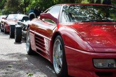 Formación de Ferrari Imagen de archivo libre de regalías