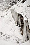 Formación de hielo Fotos de archivo