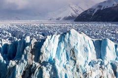 Formación de hielo en el Perito Moreno National Park Imagen de archivo libre de regalías