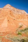 Formación de la piedra arenisca Fotografía de archivo