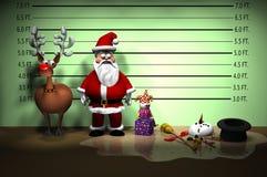 Formación de la policía DESPUÉS Fotos de archivo libres de regalías