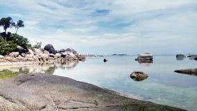 Formación de piedra natural - Tanjung Tinggi Imagenes de archivo