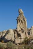 Formación de roca de Cappadocia y cuevas, Goreme Imagen de archivo libre de regalías