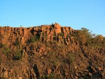 Formación de roca de la montaña fotografía de archivo