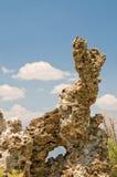 Formación de roca de la toba volcánica Imagen de archivo libre de regalías