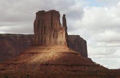 Formación de roca de los E.E.U.U. Arizona en valle del monumento imagen de archivo libre de regalías