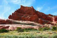 Formación de roca de montañas de la sal del La Fotografía de archivo
