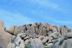 Formación de roca de Rangled Imagen de archivo