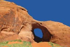 Formación de roca del arco - valle del monumento Fotos de archivo libres de regalías