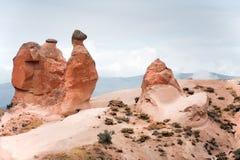 Formación de roca del camello en Cappadocia fotos de archivo libres de regalías