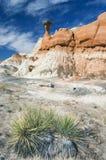 Formación de roca del Hoodoo Imágenes de archivo libres de regalías
