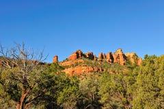 Formación de roca del Mesa Arizona Imagen de archivo