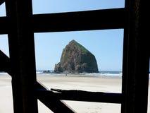 Formación de roca del pajar Oregon Imágenes de archivo libres de regalías