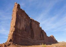 Formación de roca del parque nacional de los arcos Imagenes de archivo