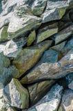 Formación de roca en bulto fotos de archivo