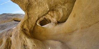 Formación de roca en el desierto de Anza Borrego Imágenes de archivo libres de regalías