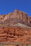 Formación de roca en el parque nacional de los arcos Paisaje, estado foto de archivo libre de regalías