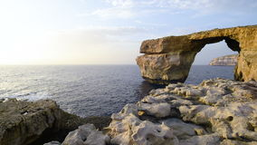 Formación de roca en Malta, Europa metrajes
